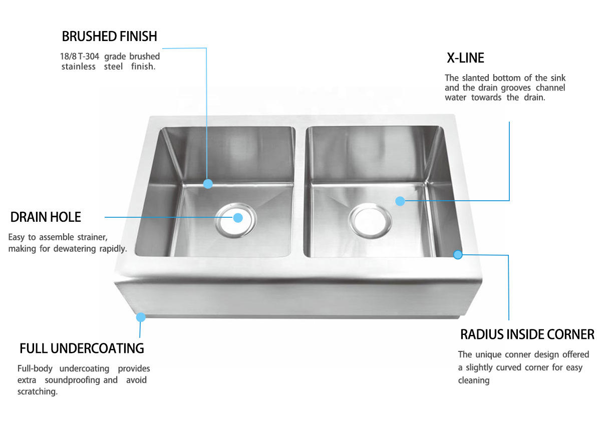 Hot apron sink farmhouses Top Home Brand