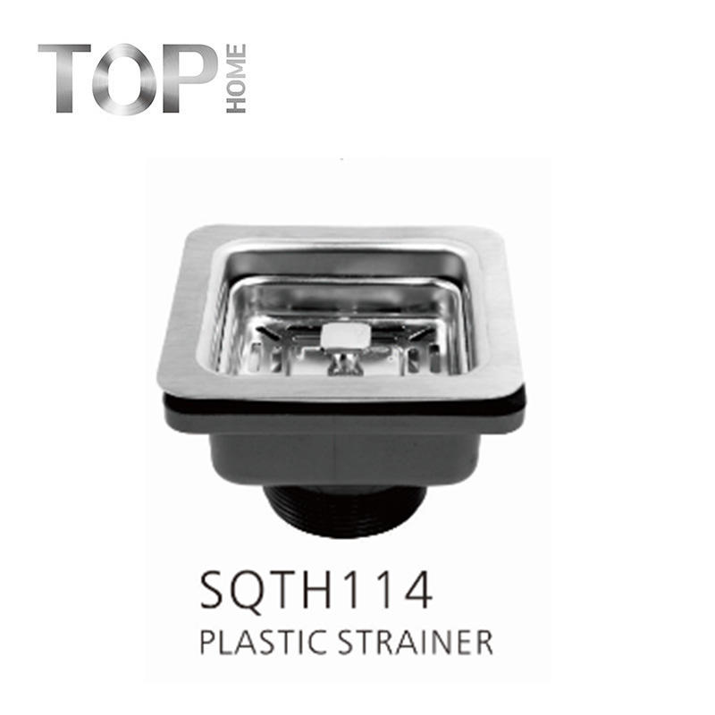 SQTH114 stainless steel drain for kitchen sink with 11.4cm diameter