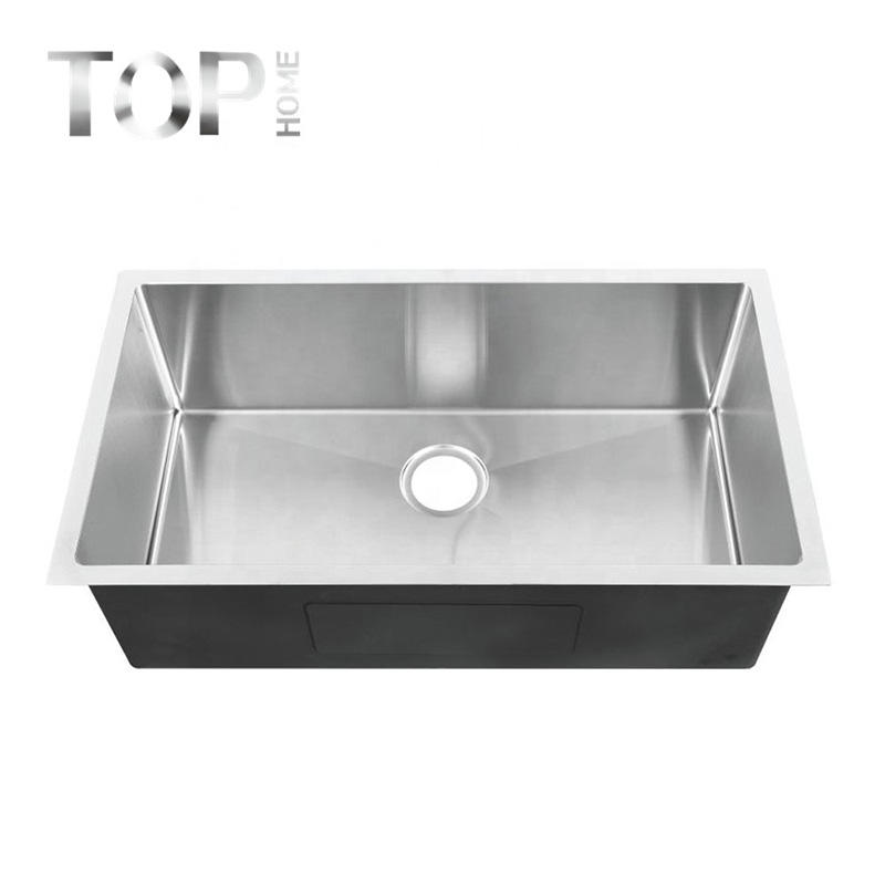 THRR3018C Stainless steel sink for kitchen 30'' inches with Radius Inside Corners