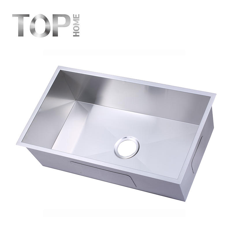 THRA3018C 30 Inches single bowl sink stainless steel for undermount