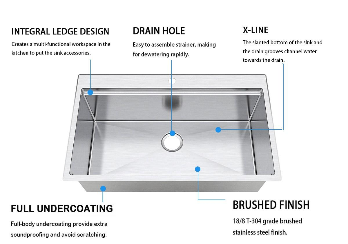 convenience multifunction sink single wash easily