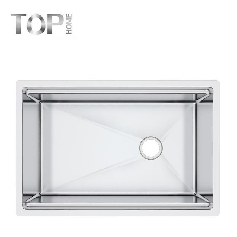 30'' inches ledge single bowl sink with CUPCcertificaition-multifunctional stainless steel sink