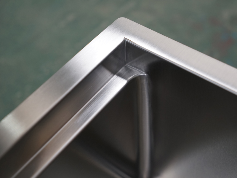 Top Home handmade undermount stainless steel kitchen sink wash easily for restaurant-10