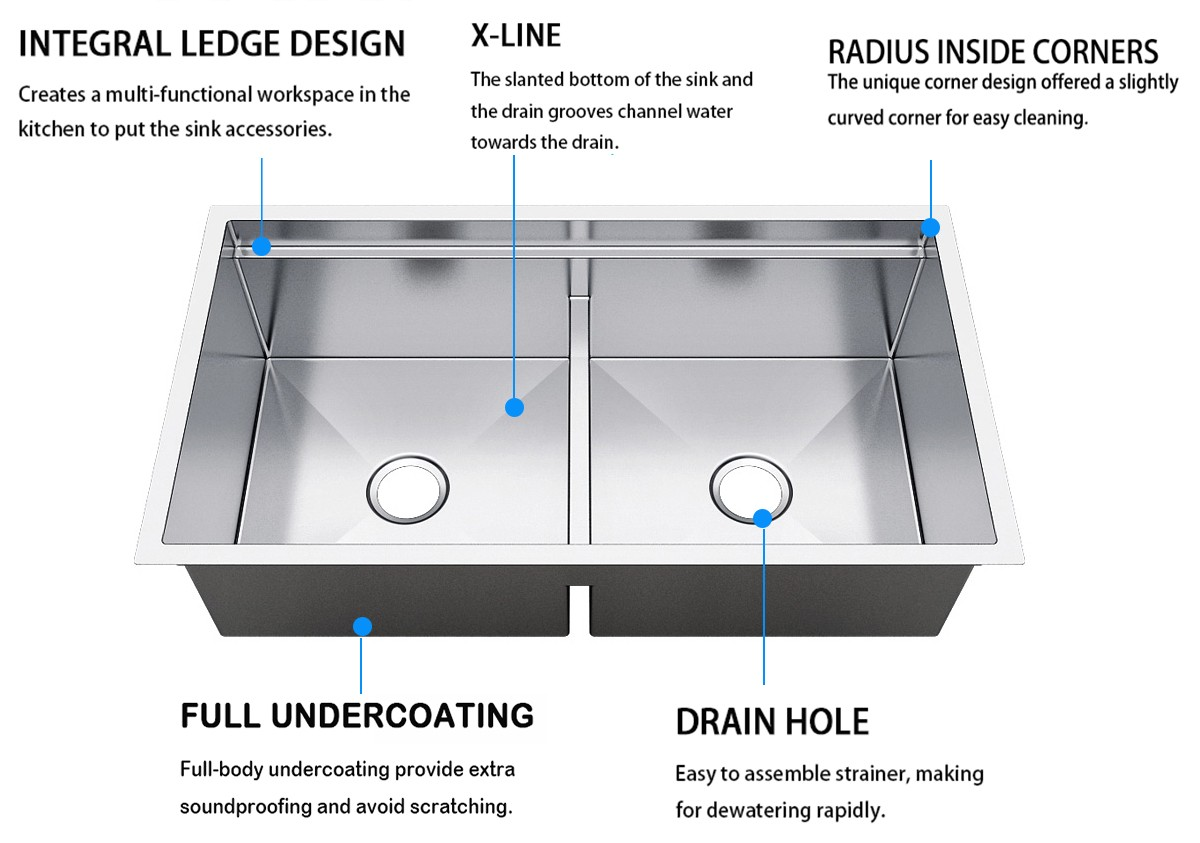 Top Home multifunctional single bowl kitchen sink manufacturer for outdoor-7