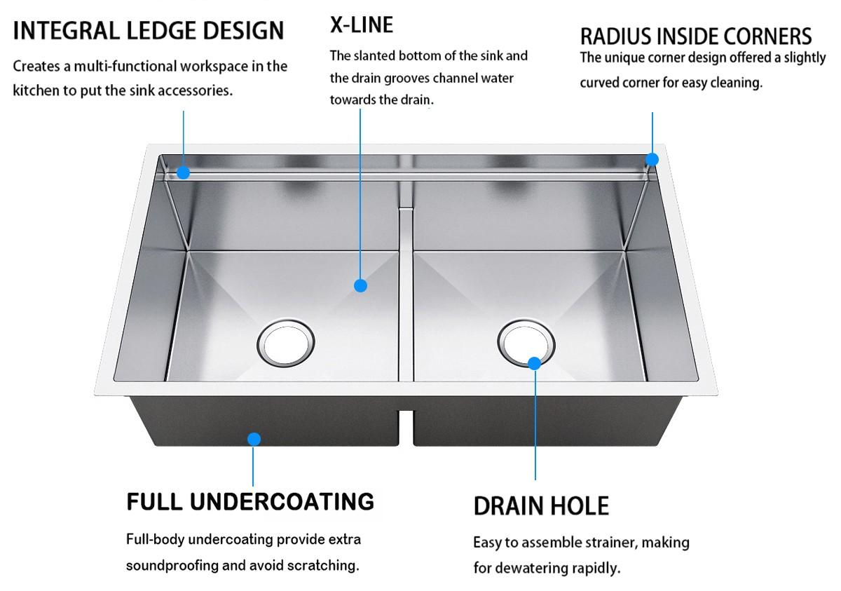 Top Home handmade galley sink online for kitchen