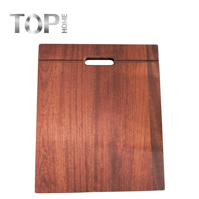 Cutting board for kitchen sink made in wooden