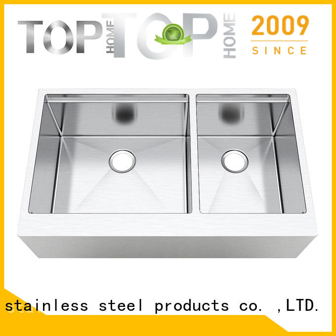 good quality apron front kitchen sink steel supplier for cooking