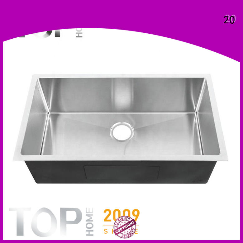 Top Home utility under mount sink easy installation restaurant
