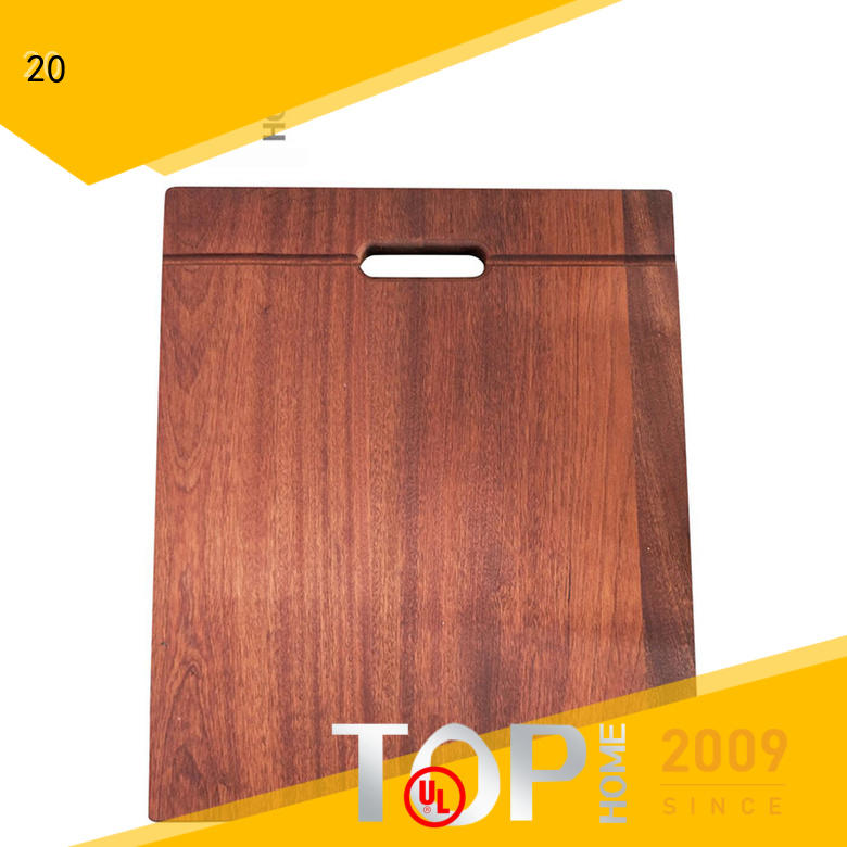 Top Home steel cutting board with handle Different Size for kitchen