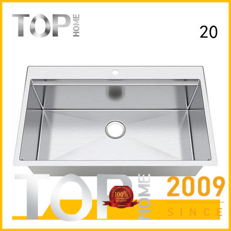 Top Home 40x20x10 stainless steel sink for sale for restaurant