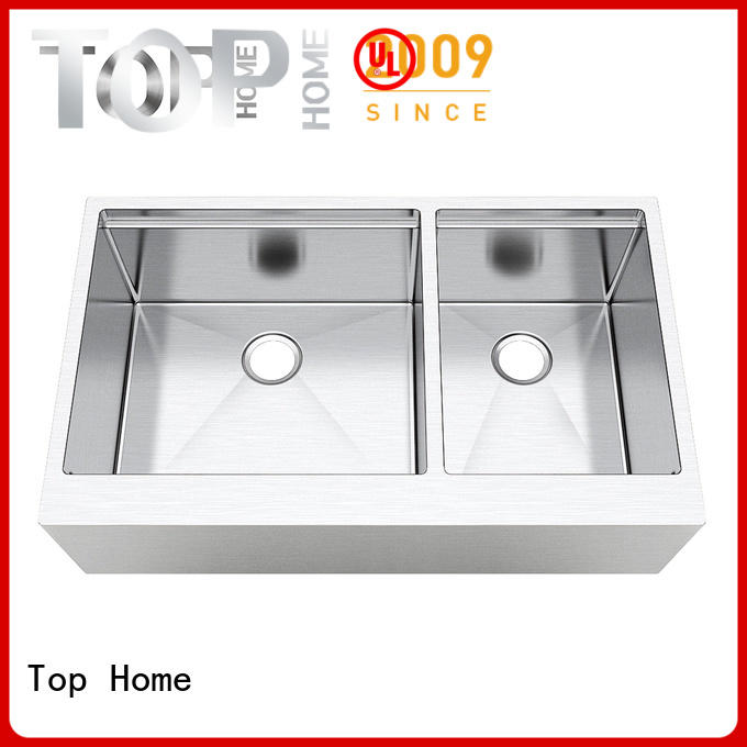 Top Home superior stainless apron sink easy cleanning for countertop