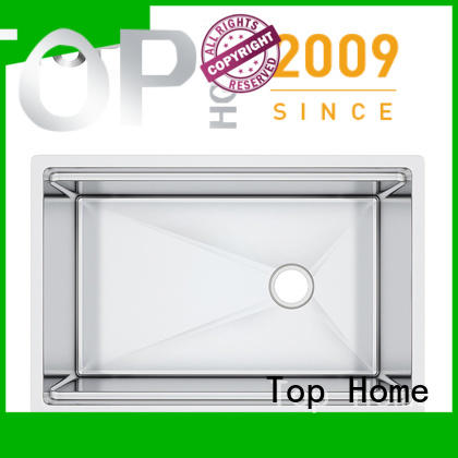 Top Home cupc undermount stainless steel kitchen sink easy cleanning for outdoor