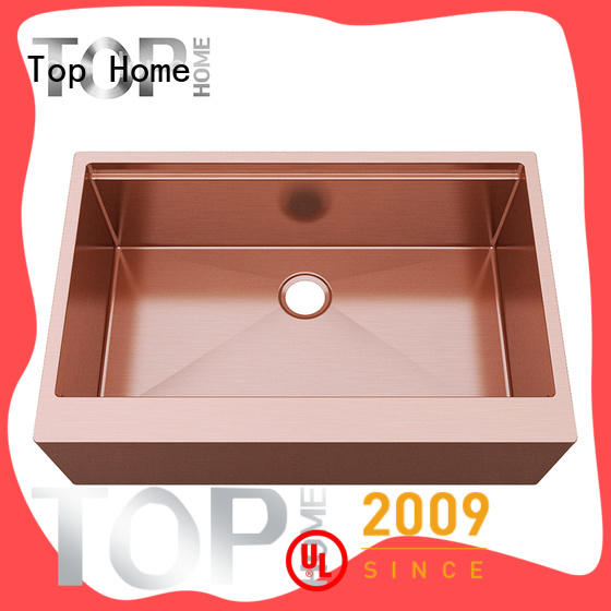 Top Home highest quality gold sink double bowls for kitchen