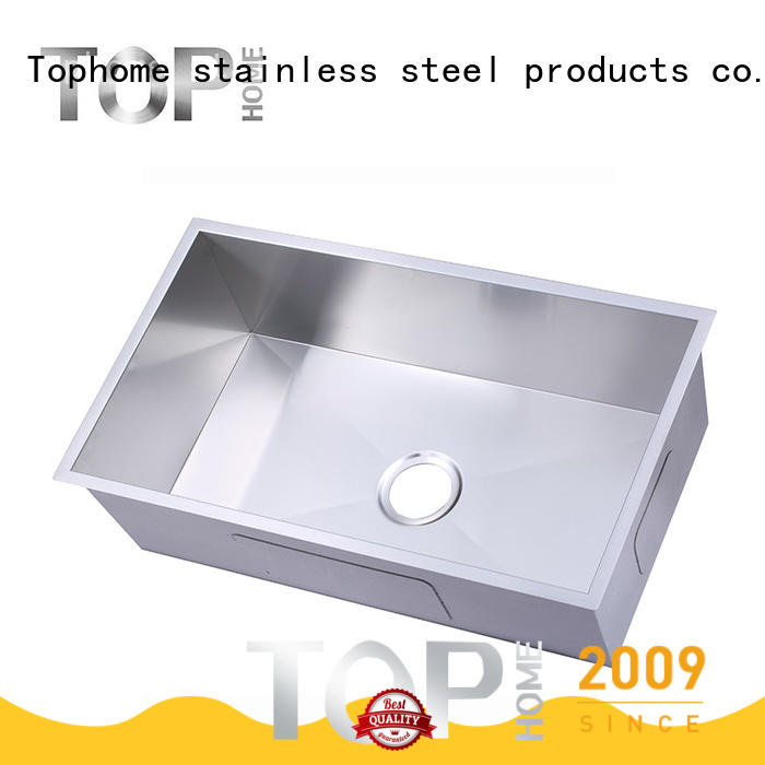Top Home handmade commercial stainless steel sink durability kitchen