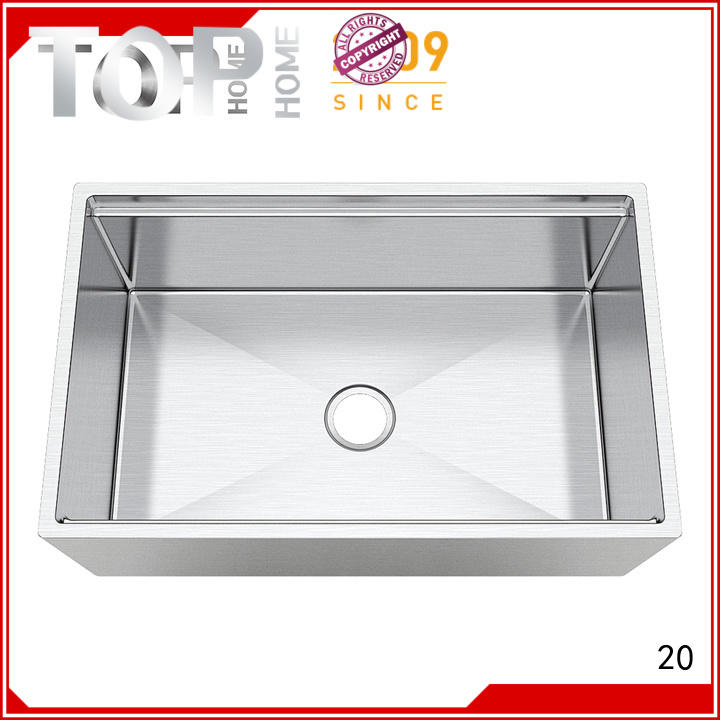 easy installation stainless farm sink single easy cleanning for countertop