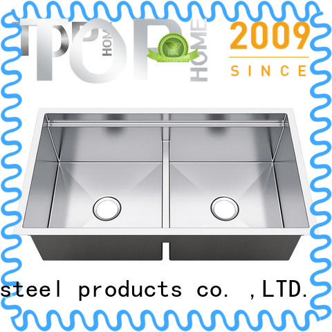 Top Home t3320 undermount stainless steel kitchen sink easy cleanning for kitchen