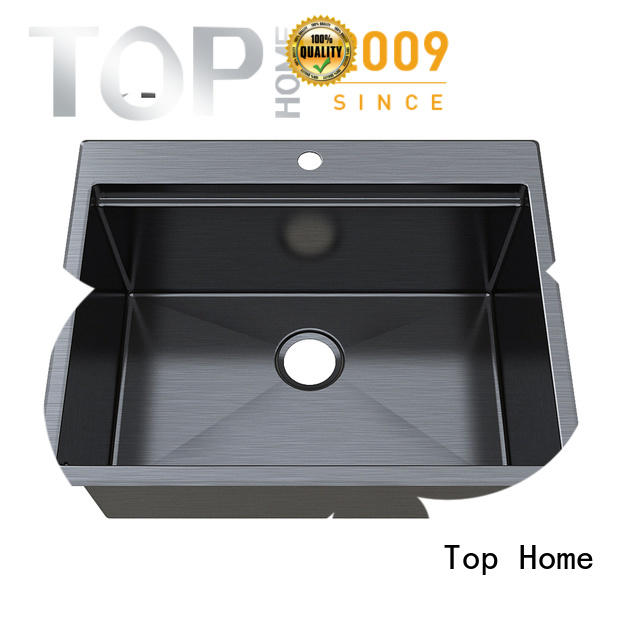 apron stainless steel bathroom sink mounting for restaurant