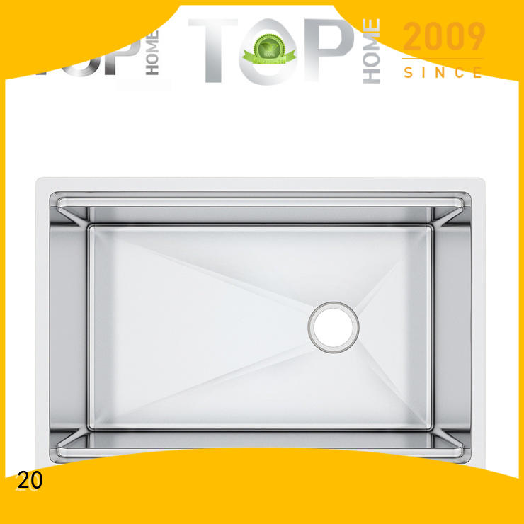 Top Home handmade stainless steel sink for sale for outdoor