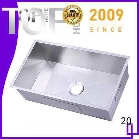 Top Home utility undermount stainless steel kitchen sink durability outdoor countertop