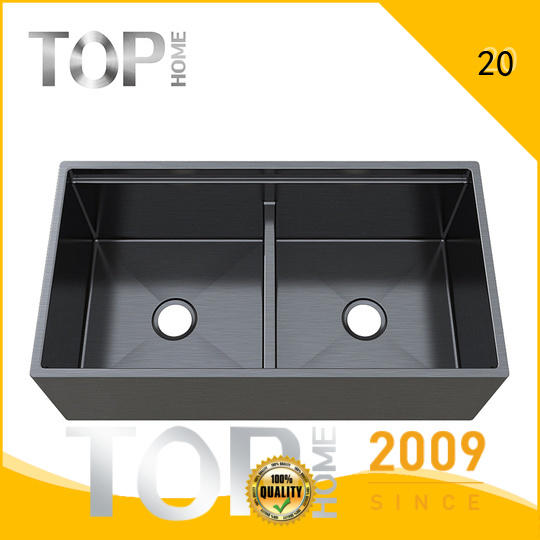 Top Home apr3322s handmade kitchen sink factory price for apartment