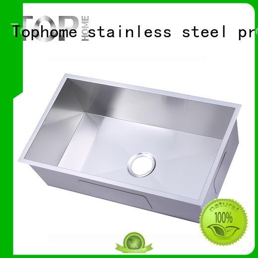 Top Home industrial undermount stainless steel kitchen sink certification kitchen