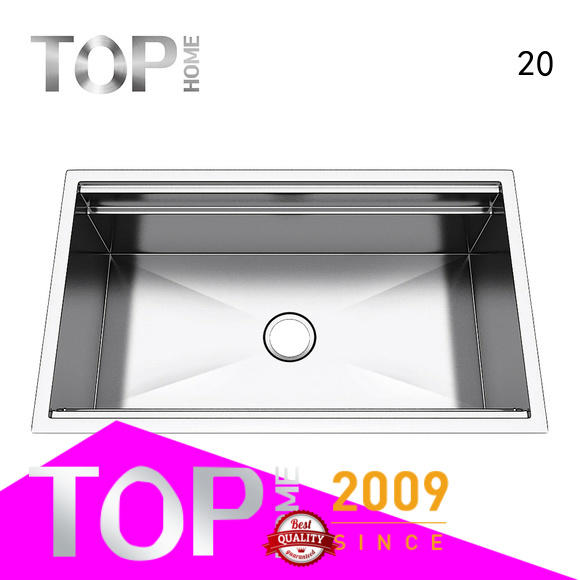 durable stainless steel under mount sink 30 for outdoor