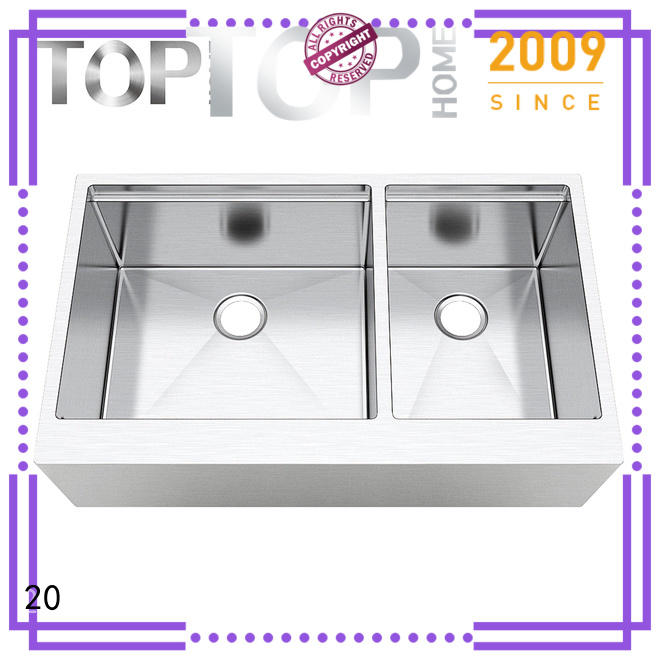 Top Home single farmhouse kitchen sink durable for cooking