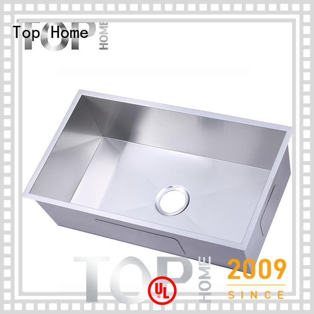Top Home industrial stainless steel under mount sink highest quality outdoor countertop