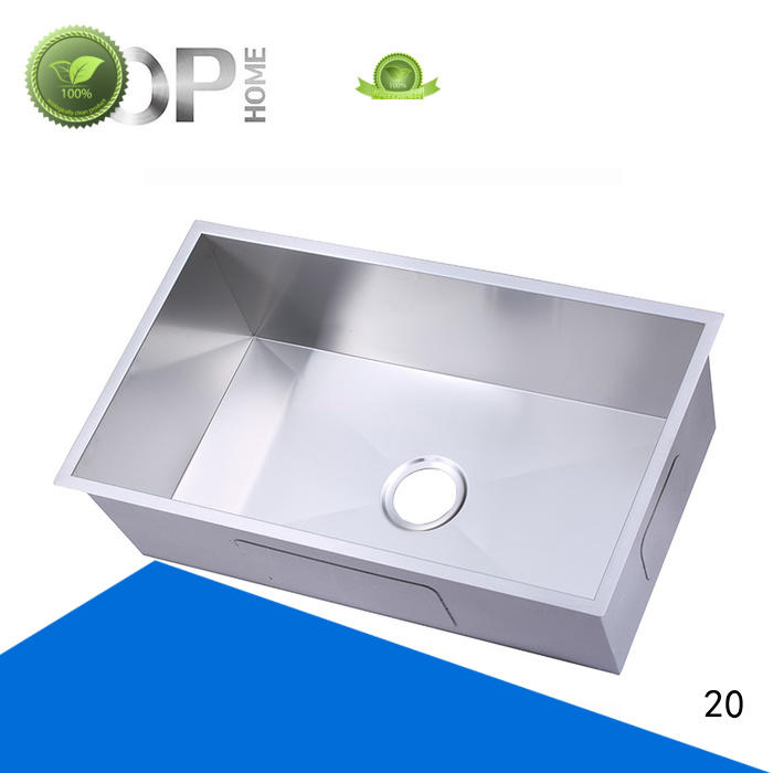easy to clean black stainless kitchen sink Eco-Friendly restaurant