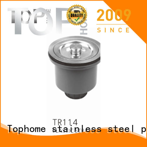 Top Home deep sink plug strainer easy installation restaurant