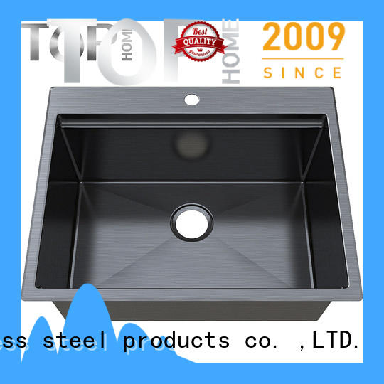Top Home durability kitchen sink dual mount metal
