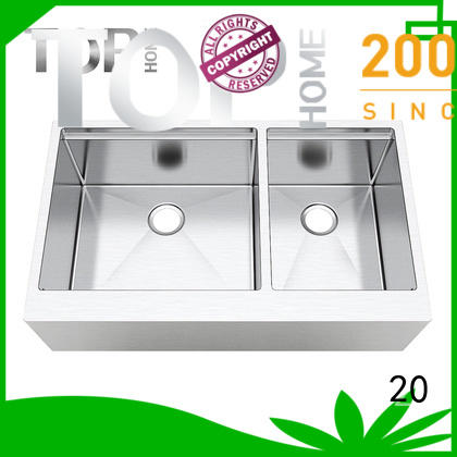 Top Home color stainless steel apron sink easy cleanning for restaurant