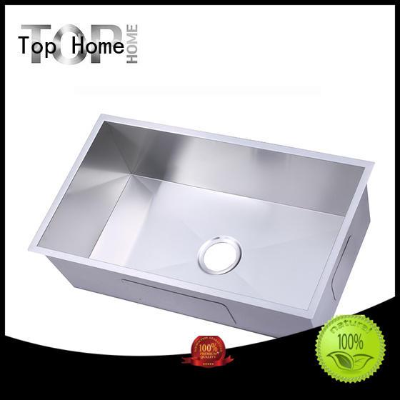 corners stainless undermount sink washing kitchen Top Home