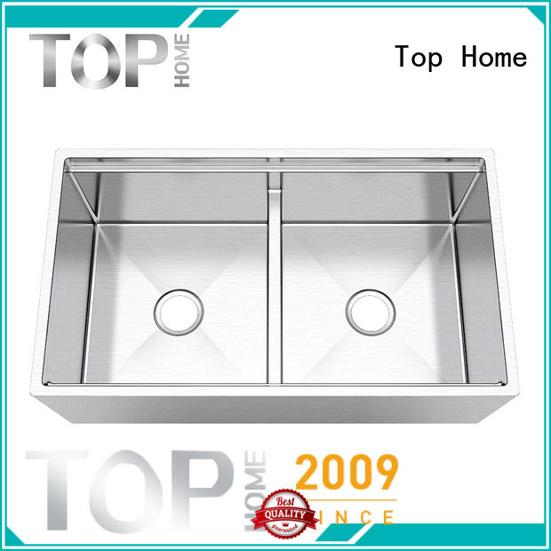 Top Home double apron sink durable for restaurant