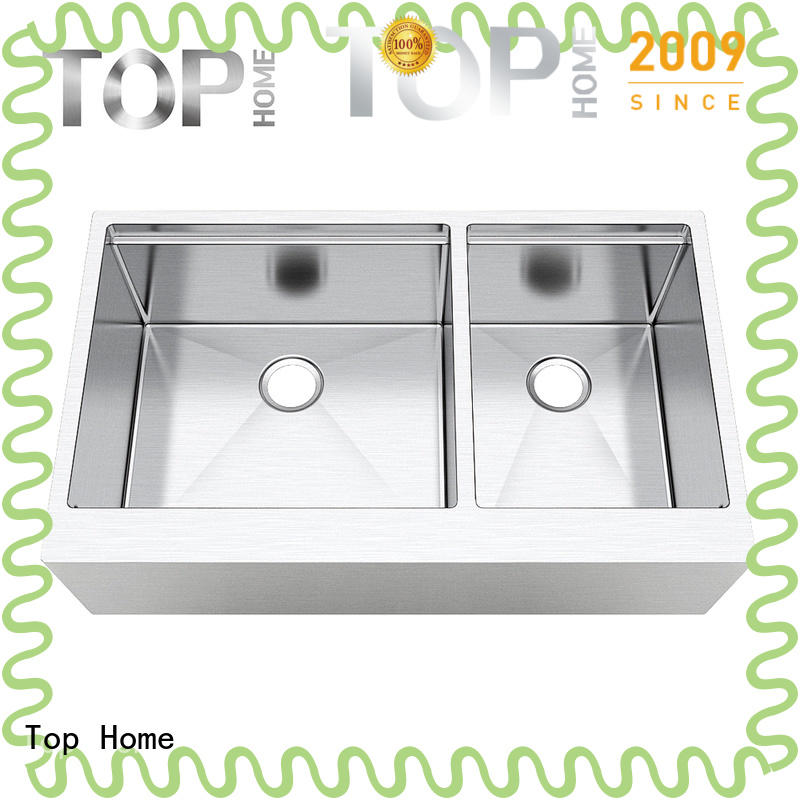 Top Home thap3620bl kitchen apron sink supplier for cooking