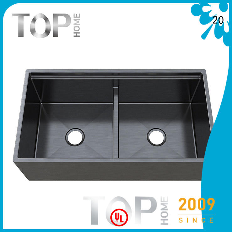 Top Home stainless black sink factory price