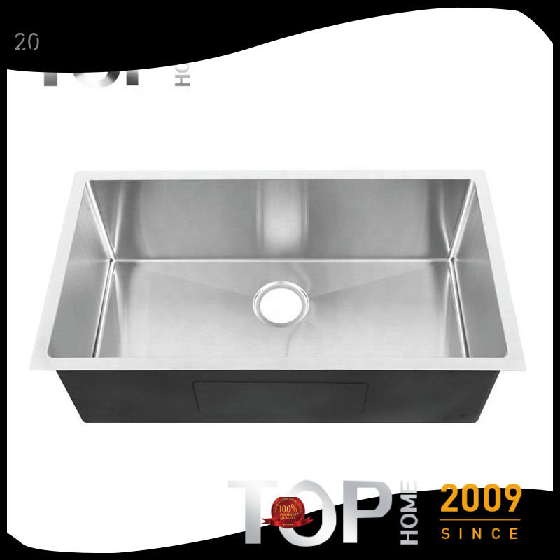 Top Home farmhouse commercial stainless steel sink Eco-Friendly for cooking