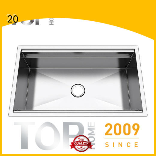 durable stainless steel undermount sink commercial for sale for restaurant