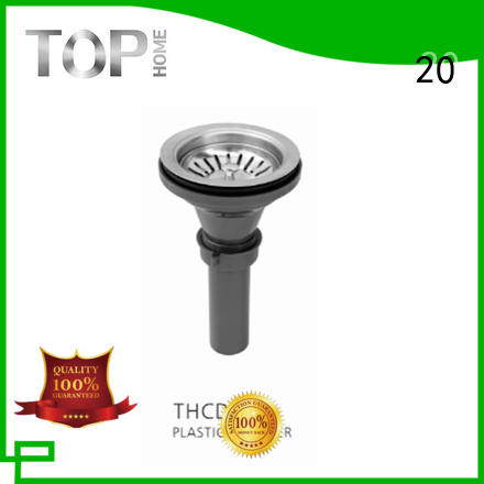 Top Home Chinese kitchen sink plug strainer stainless steel screen kitchen