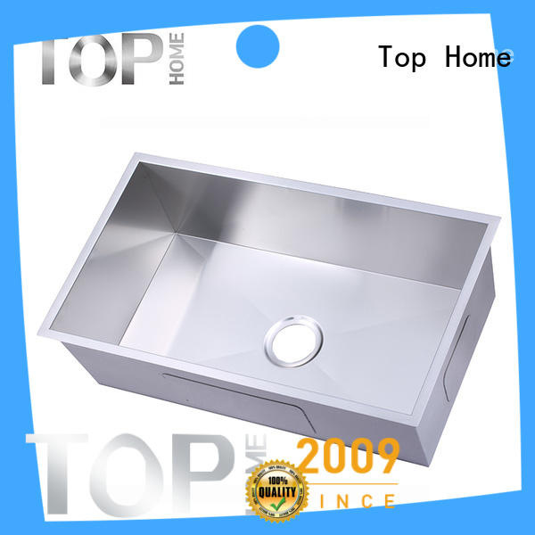 Top Home good quality stainless steel kitchen sink easy installation for cooking