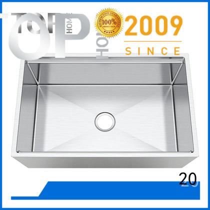 Top Home superior stainless farm sink for sale for kitchen