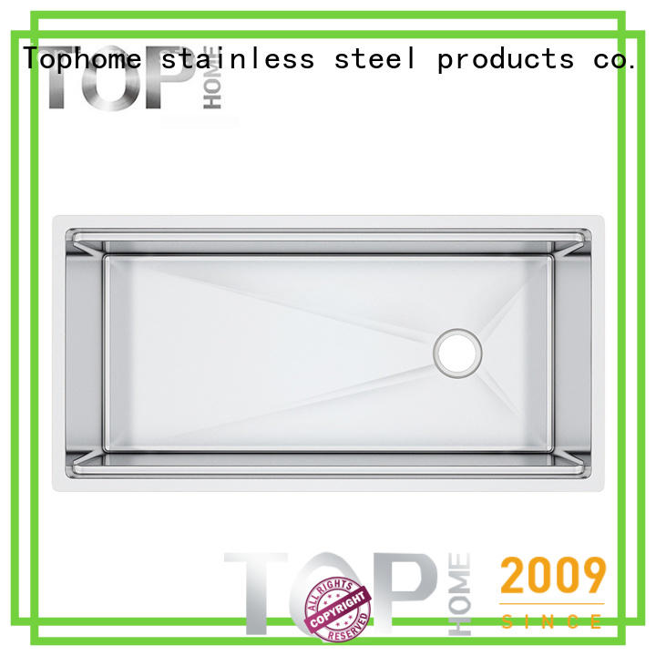 Top Home durable stainless steel undermount sink for sale
