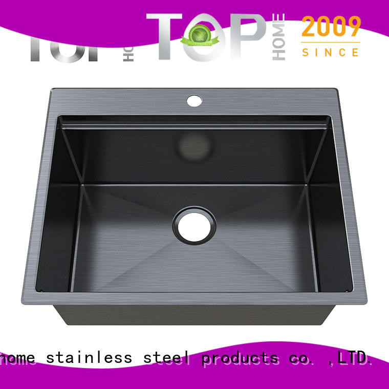 Top Home black kitchen basin factory price for restaurant