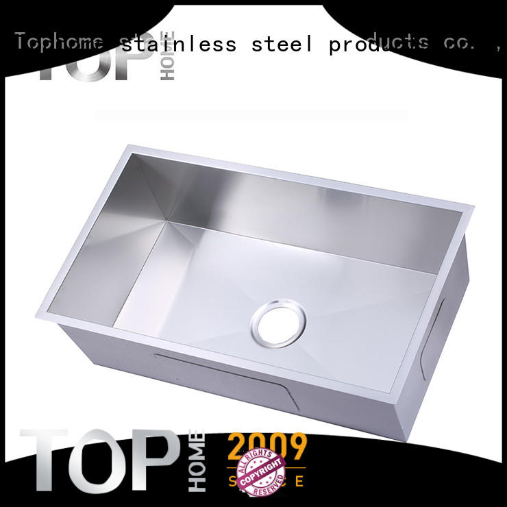 Top Home easy to clean black undermount sink convenience for cooking