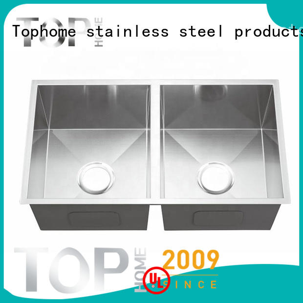 Top Home good quality stainless steel under mount sink Eco-Friendly kitchen