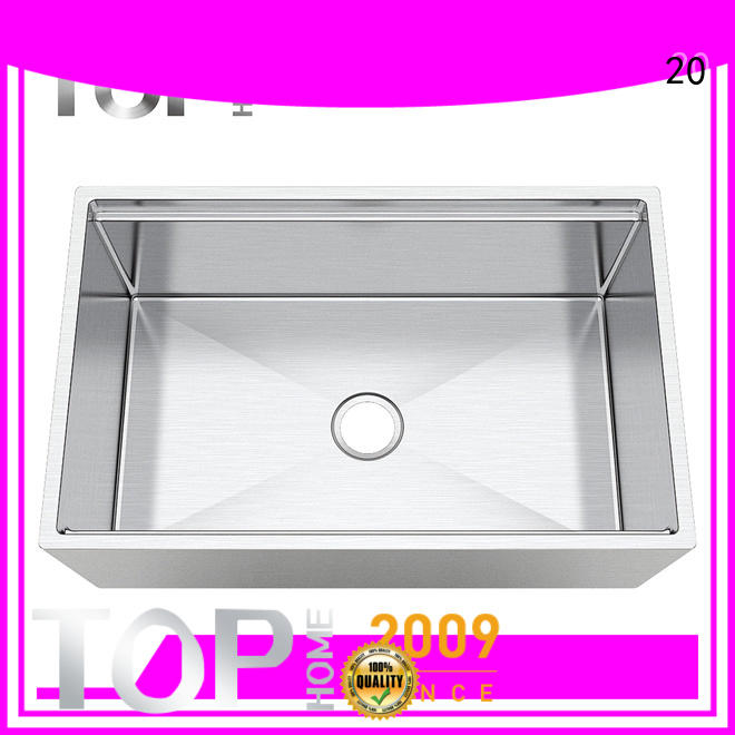 Top Home stainless steel farmhouse sink durable for kitchen