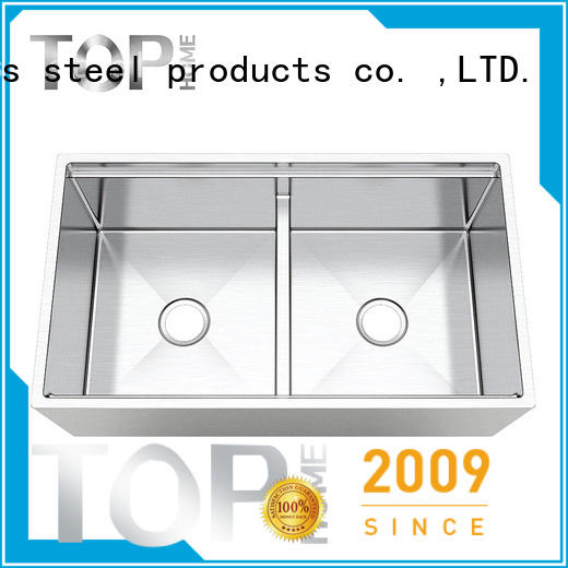 Top Home by double farmhouse sink durable for restaurant