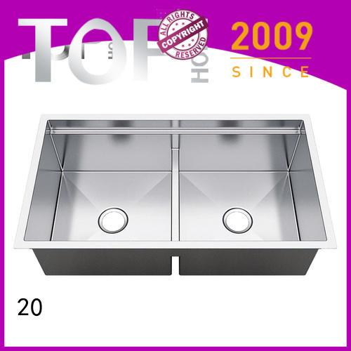 Top Home 40x20x10 under mount sink manufacturer for kitchen
