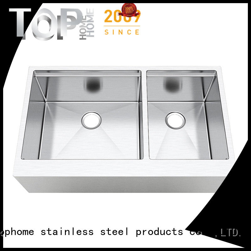 Top Home good quality stainless farm sink durable for kitchen