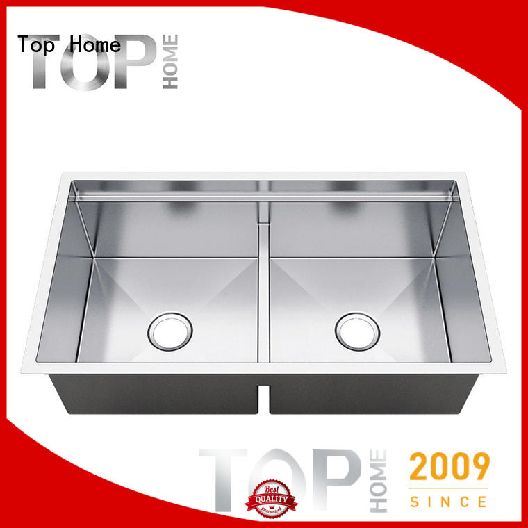 Top Home durable stainless steel sink easy cleanning for kitchen